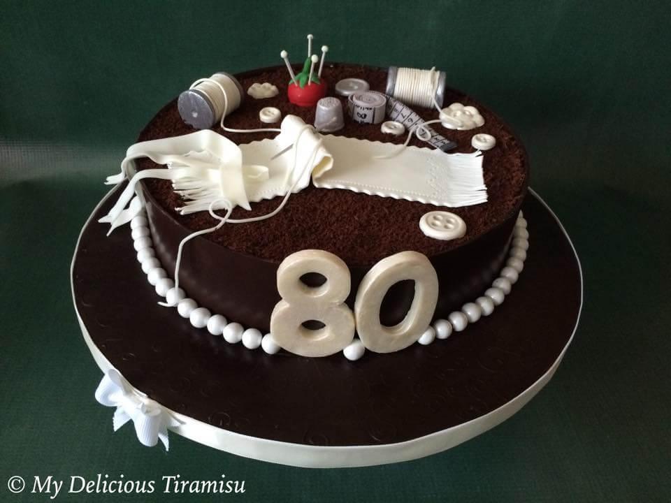 Оксана Красуля торты тирамису превращает в произведение искусства. Фото: mydelicioustiramisu.com
