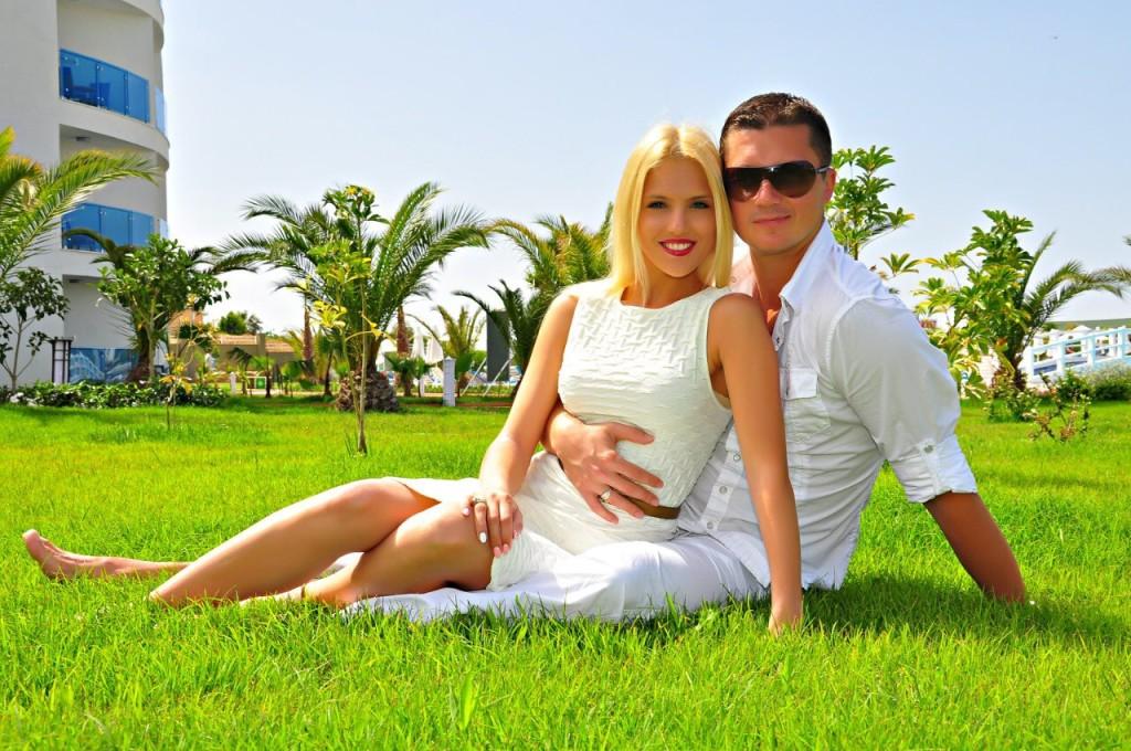 Почти год супруги вместе живут в штате Флорида. Фото из личного архива.