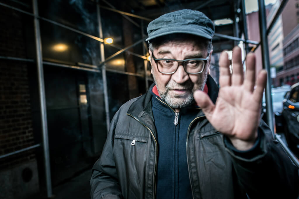 Юрий Шевчук перед концертом. Фото: Павел Терехов