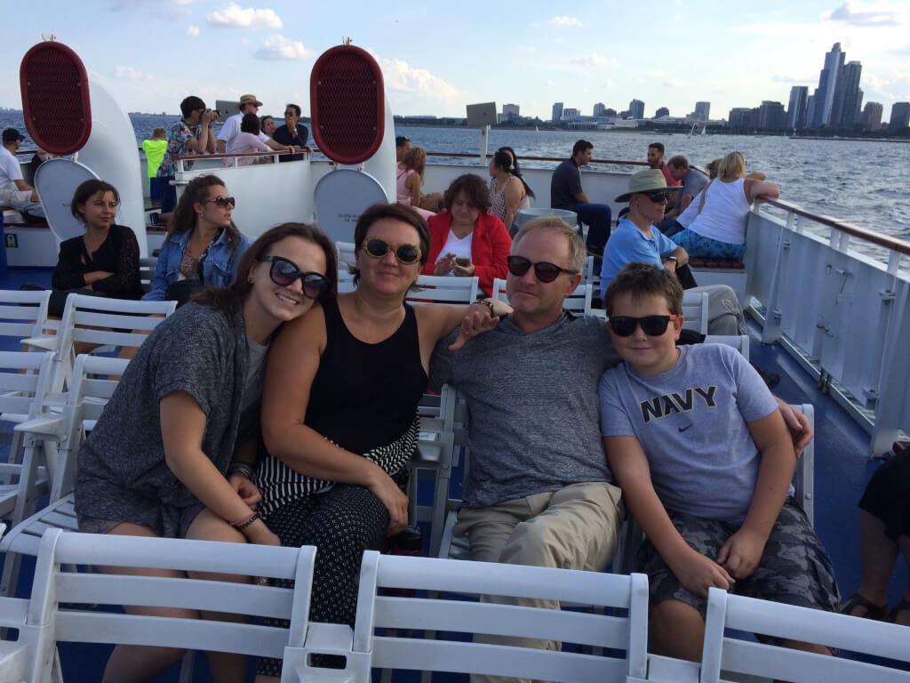 Юрий с семьёй. Фото: из личного архива