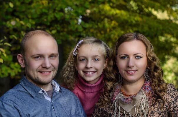 Алексей с семьёй. Фото: из личного архива