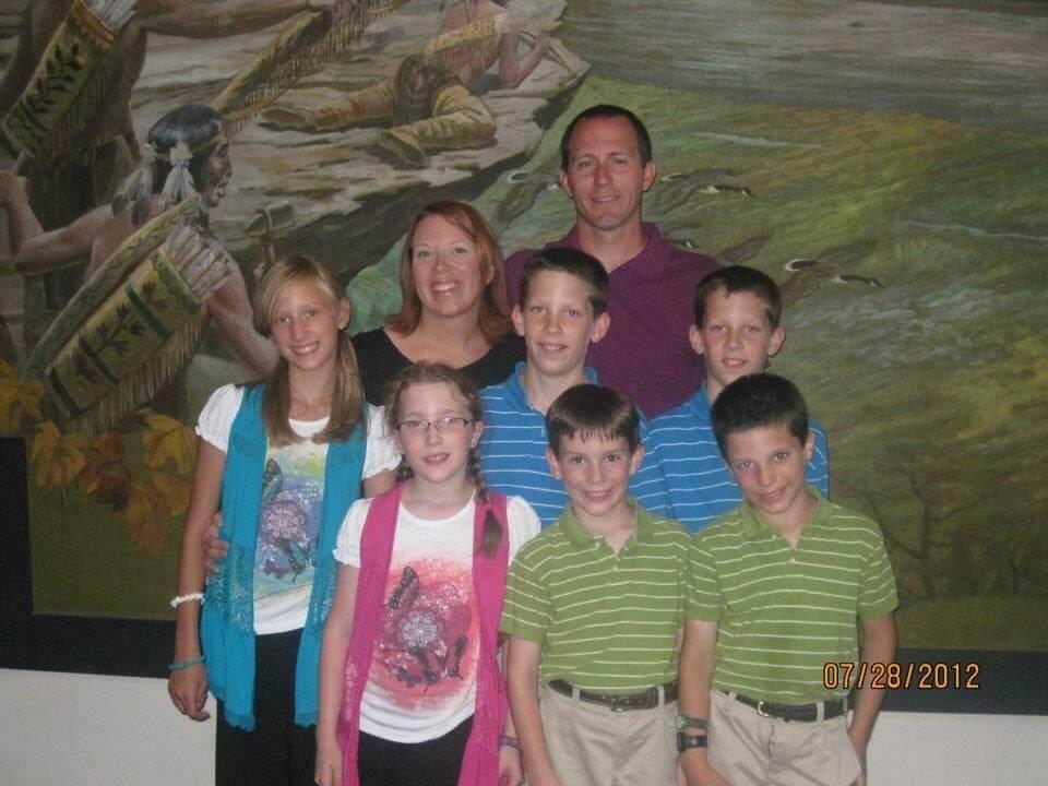 Семья Бет старалась сделать каникулы в США интересными. Фото из личного архива.