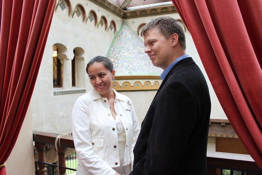 Сюзанна и Брайтйяр официально поженились в Санта-Барбарею Фото из личного архива.