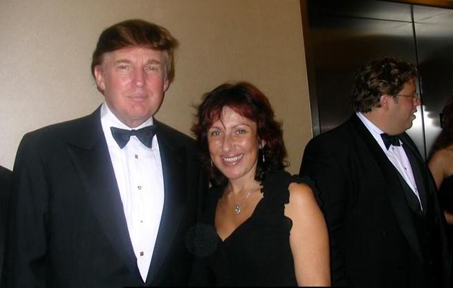 Елена Юрова с Дональдом Трампом. Фото: из личного архива Елены Юровой