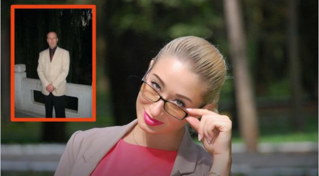 Ксения Кузнецова потеряла в авиакатастрофе под Сочи отца - Вячеслава Ермолина. Фото личная страничка в соцсети