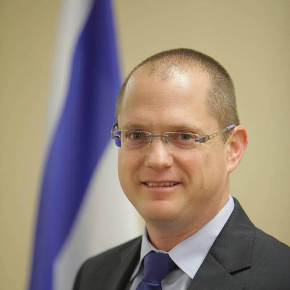 Депутат Кнессета от партии «Наш дом Израиль» Одед Форер.
