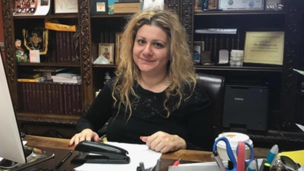 В 2011 году Илона Джамгарова стала лучшей женщиной-адвокатом по мнению Ассамблеи штата Нью-Йорк. Фото из личного архива