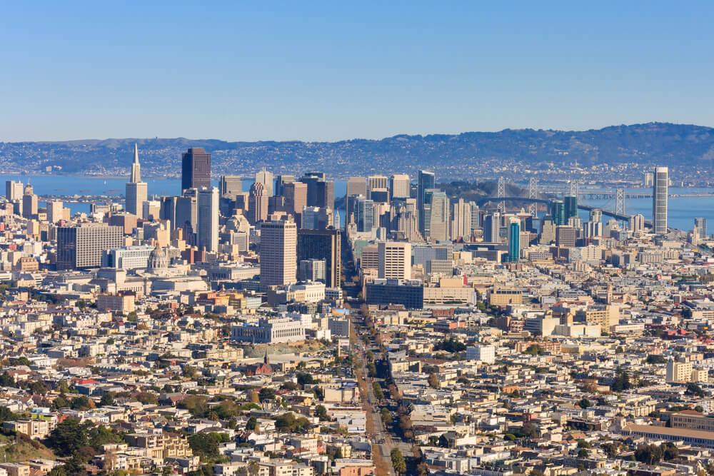 Вот так выглядит центр Сан-Франциско. Фото: Depositphotos