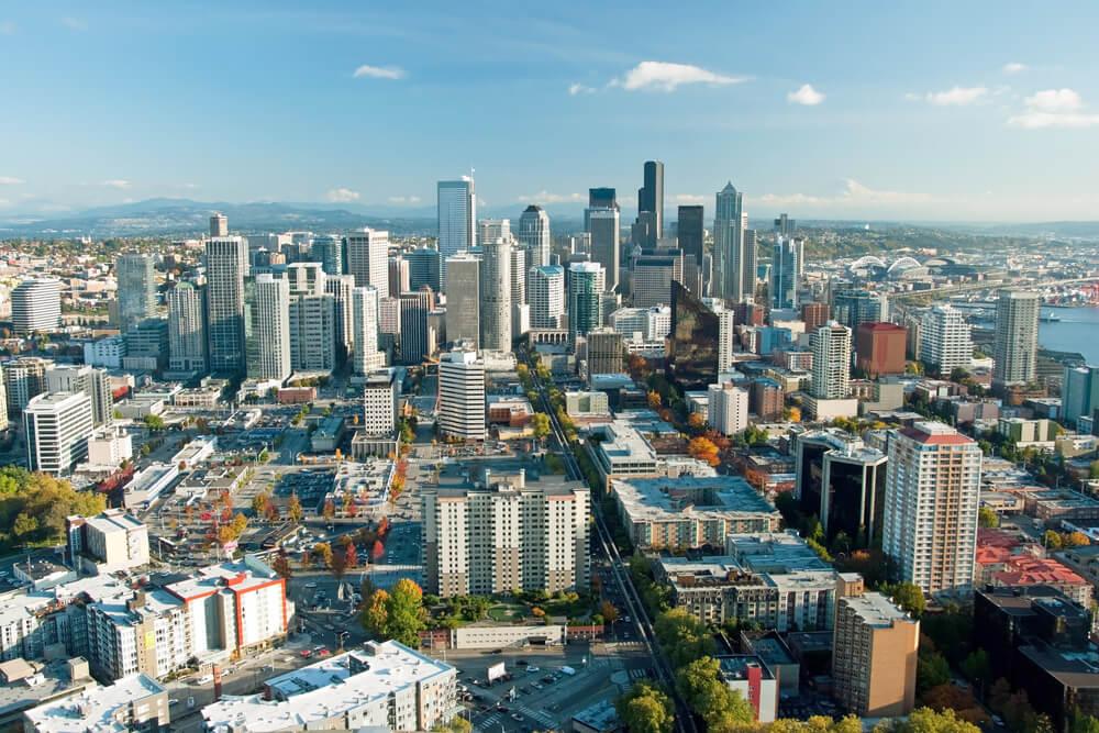 Город Сиэтл, штат Вашингтон. Фото: depositphotos.com