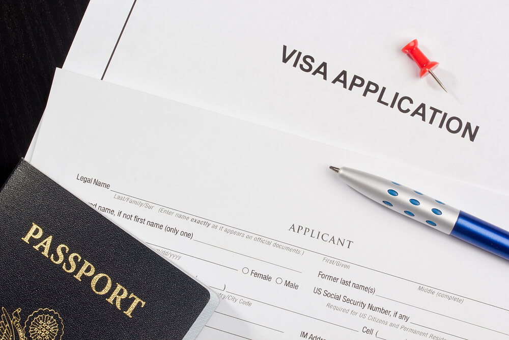Visa Application Фото: Depositphotos