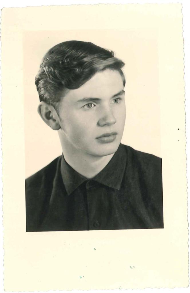Джек Барски в 17 лет. Фото из личного архива Джека Барски
