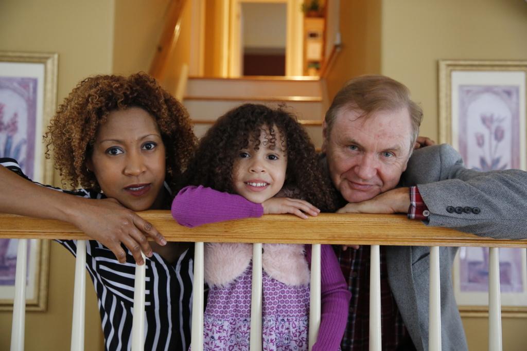 Бывший шпион КГБ Джек Барски со своей третьей женой Шавной и дочерью. Фото из личного архива Джека Барски