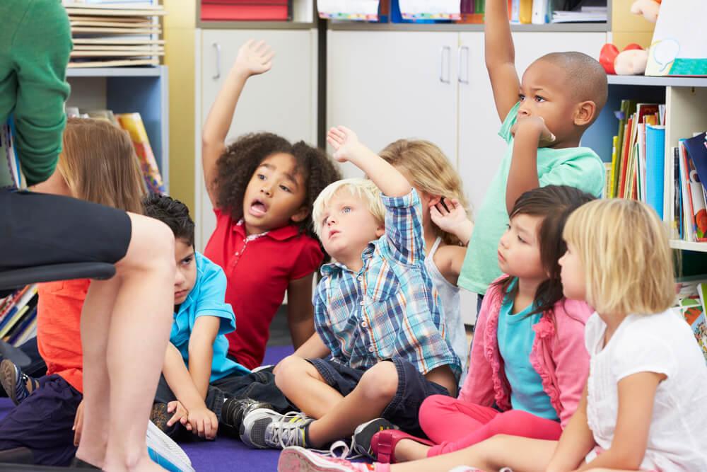 знакомство учителя с ребенком