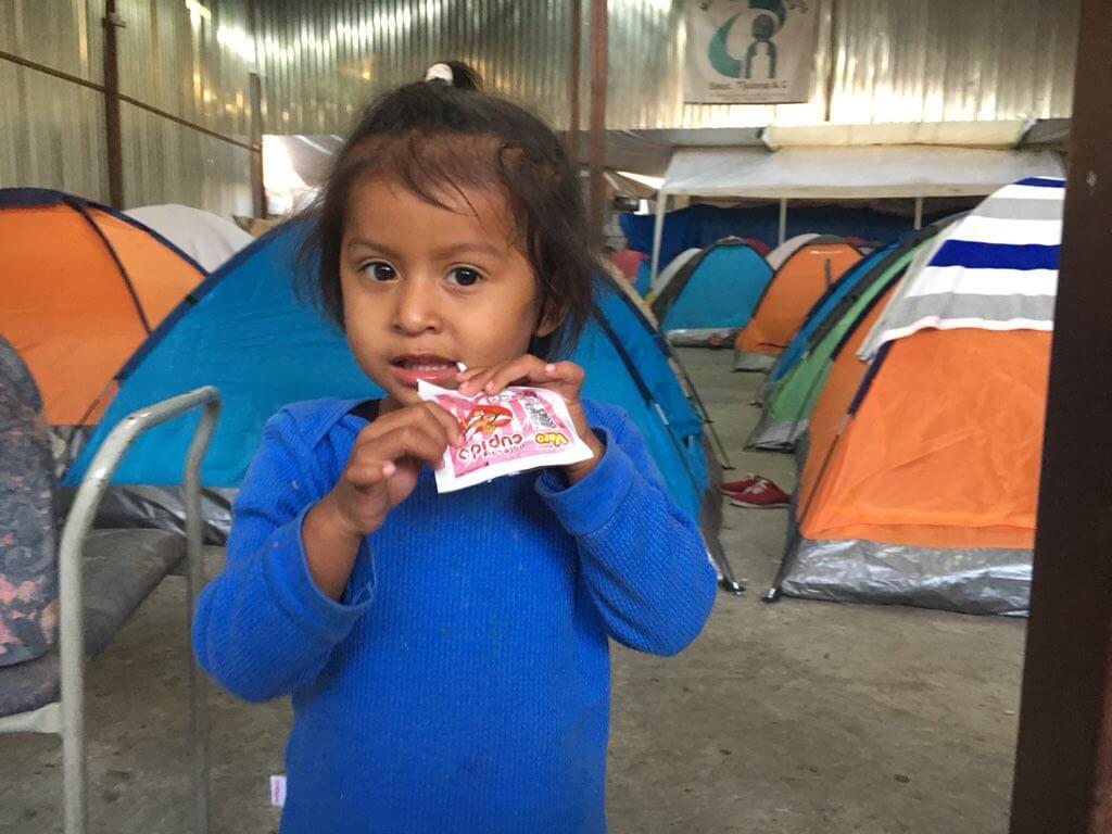«Караван» мигрантов подошел камерикано-мексиканской границе