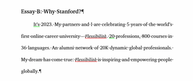 Stories Of Two Entrepreneurs About How They Acted On An Mba In The  Plans For The Fless Project On  Year  From The Introductory Essay At  Stanford Curriculum Vitae Writing Services also Paper Vs Essay  How To Write An Essay Proposal
