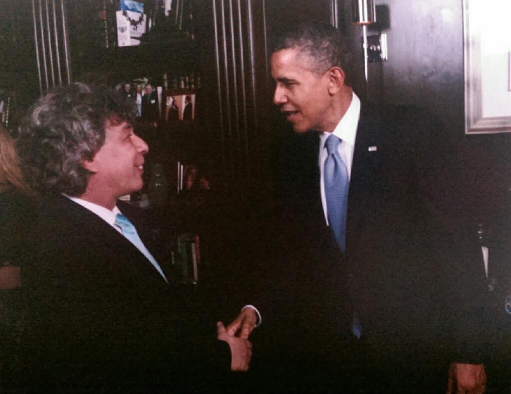 Игорь Пастернак и президент США Барак Обама. Фото с Facebook Игоря Пастернака