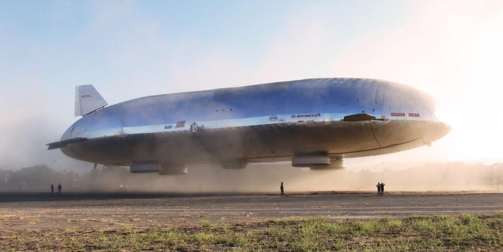 В 2013 году разработанный Игорем Пастернаком прототип грузового дирижабля взлетел. Фото пресс-службы Worldwide Aeros