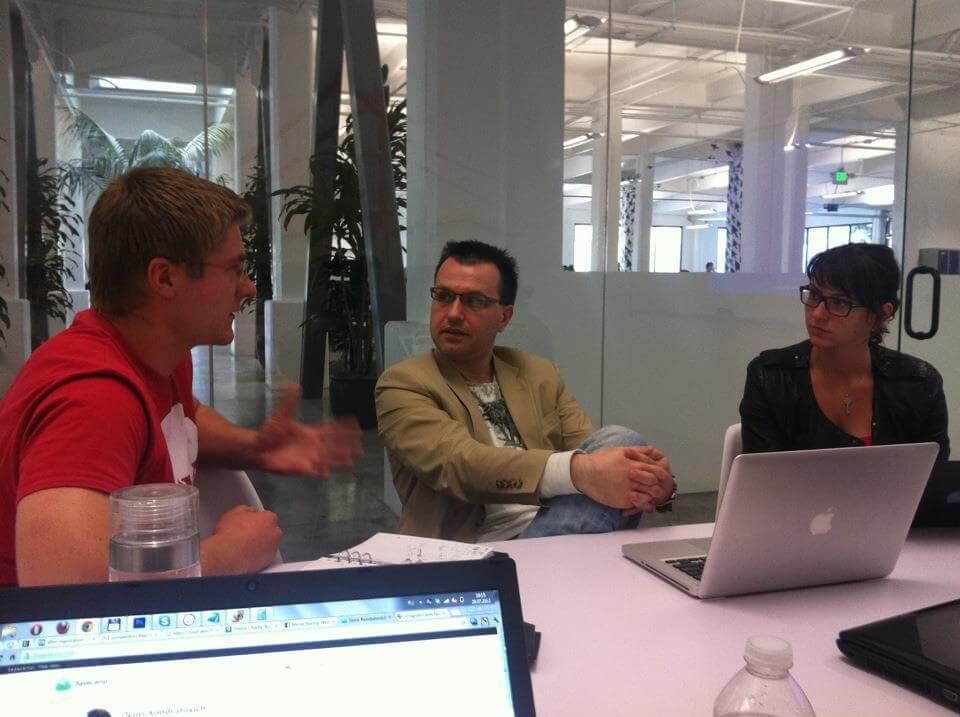 Максим Скибинский во время менторской сессии. Фото с Facebook Дениса Кондратовича