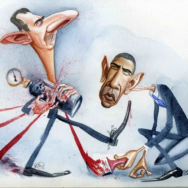 Карикатура Романа Генна
