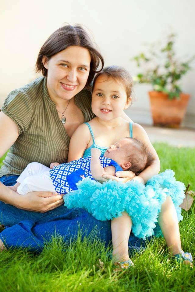 Ханна Фирман с детьми. Фото из личного архива Ханны Фирман