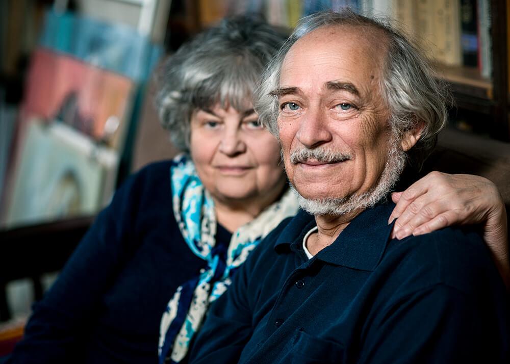 Михаил и Софья Туровские сейчас живут в Бруклине. Фото Павла Терехова