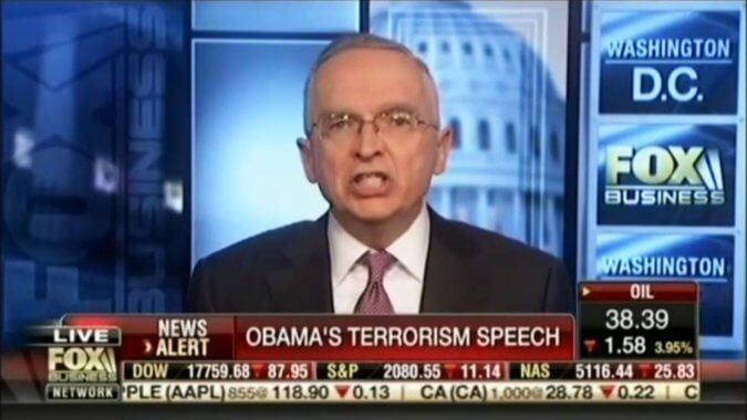 Два аналитика телеканала Fox News были отстранены от работы на две недели за нецензурные выражения в адерес Обамі. Фото: кадр с видео