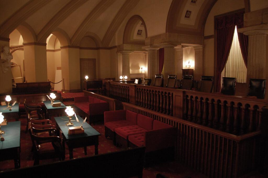 Первое помещение Верховного суда. Капитолий. Фото: Gabriel Rodríguez, fkickr.com