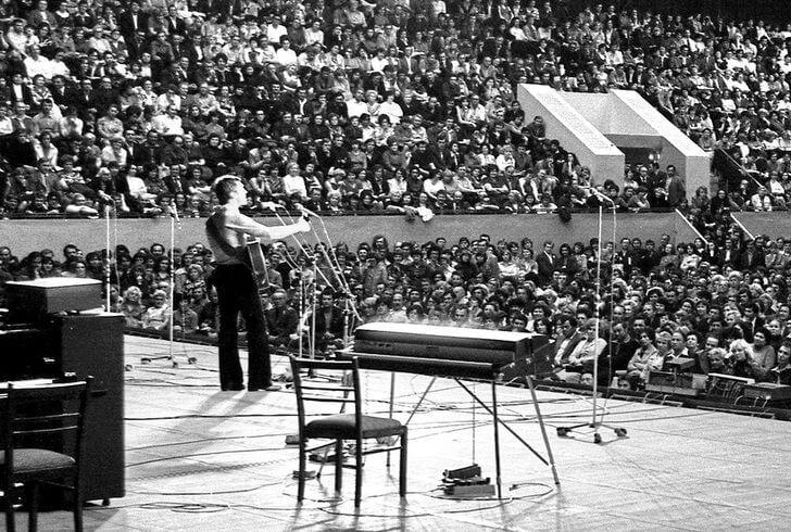 Концерт Владимира Высоцкого в Харькове, 1978 год. Фото: из личного архива певца