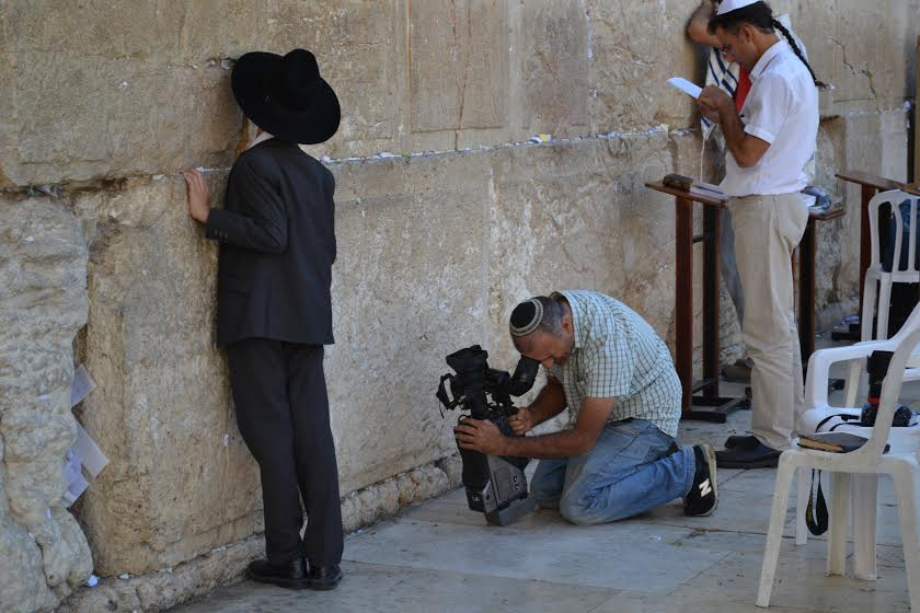 At the Wailing Wall, women and men can now pray together