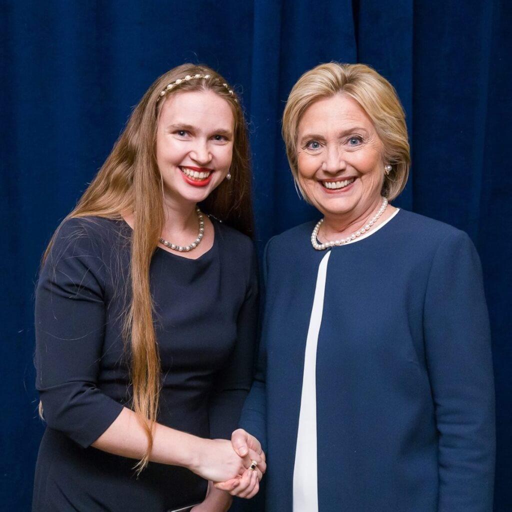 Киевлянка Наталья Пенедо сейчас работает в штабе Хиллари Клинтон. Фото из личного архива.