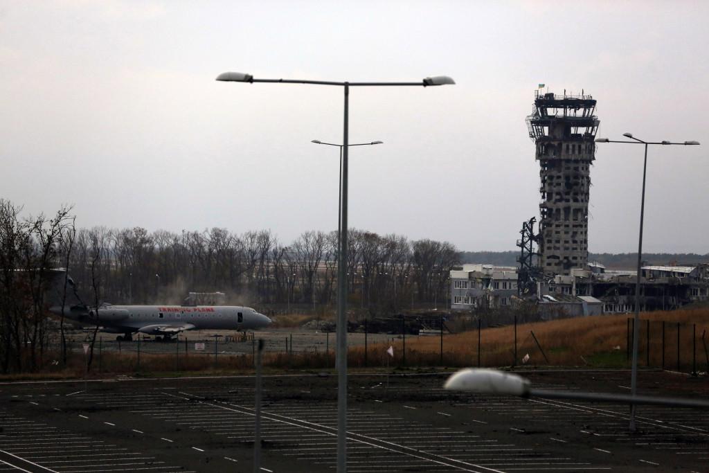 Один из дней обороны Донецкого аэропорта. Фото Сергея Лойко