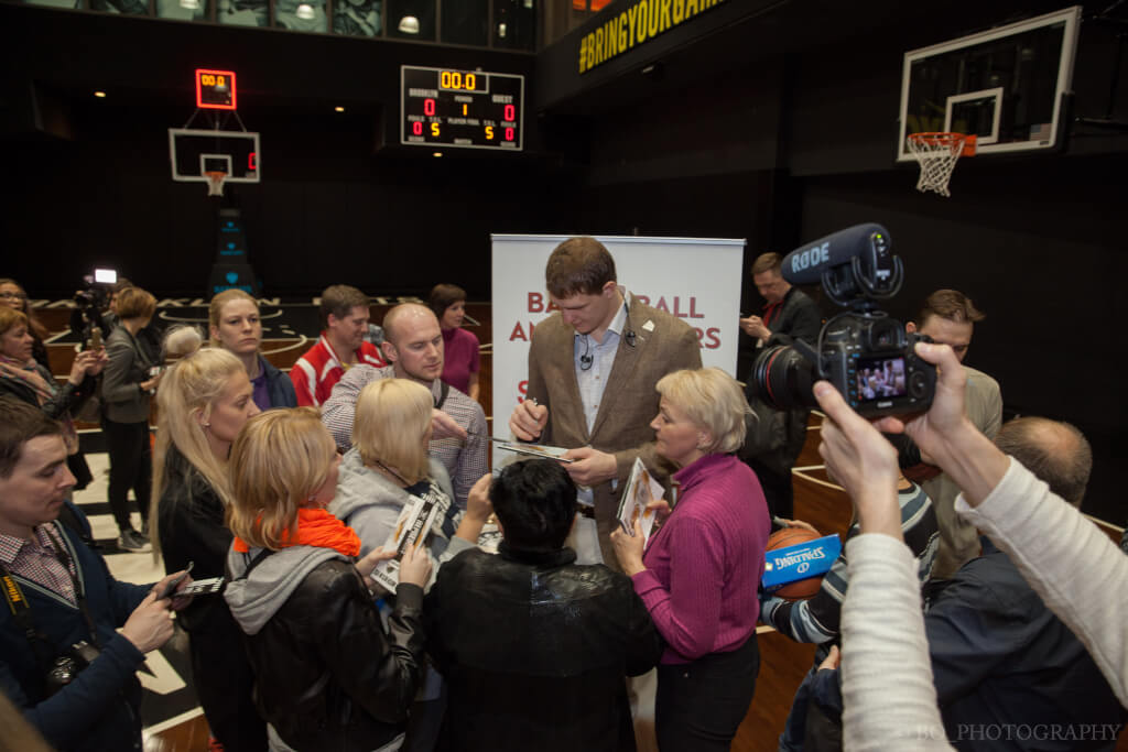 Фото организаторов программы SportsUnited: Basketball Ambassadors of Today and Tomorrow