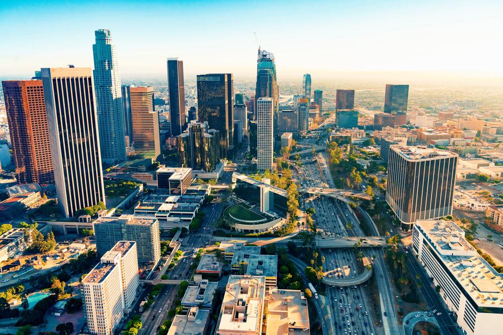 города в лос анджелесе