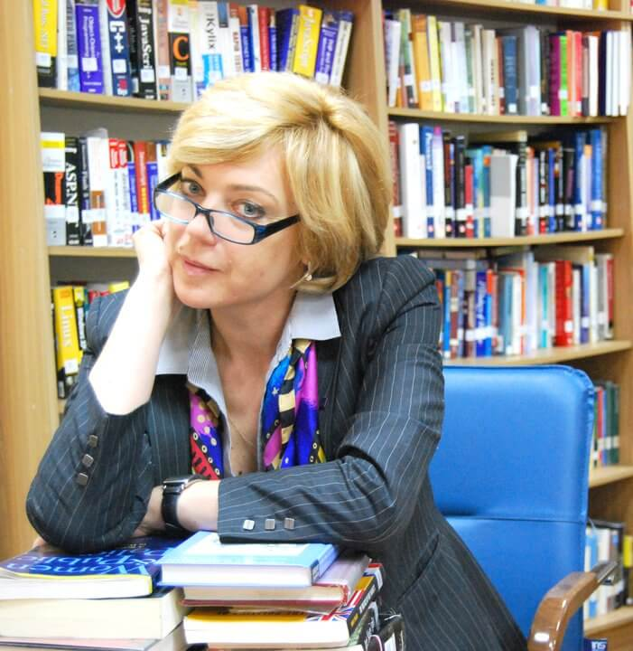 Татьяна Ярошенко по программе Фулбрайта в штаты ездила дважды. Фото: из личного архива