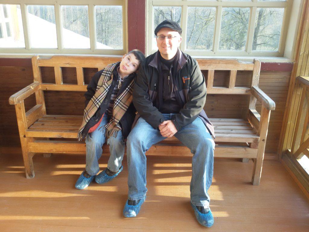 Муж и сын Марии Андерсон. Фото из личного архива