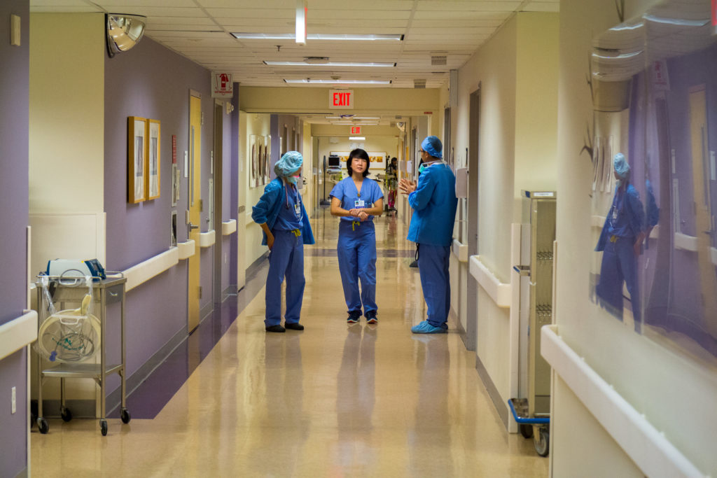 Госпиталь Kaiser, Санта Клара. Фото из личного архива автора.