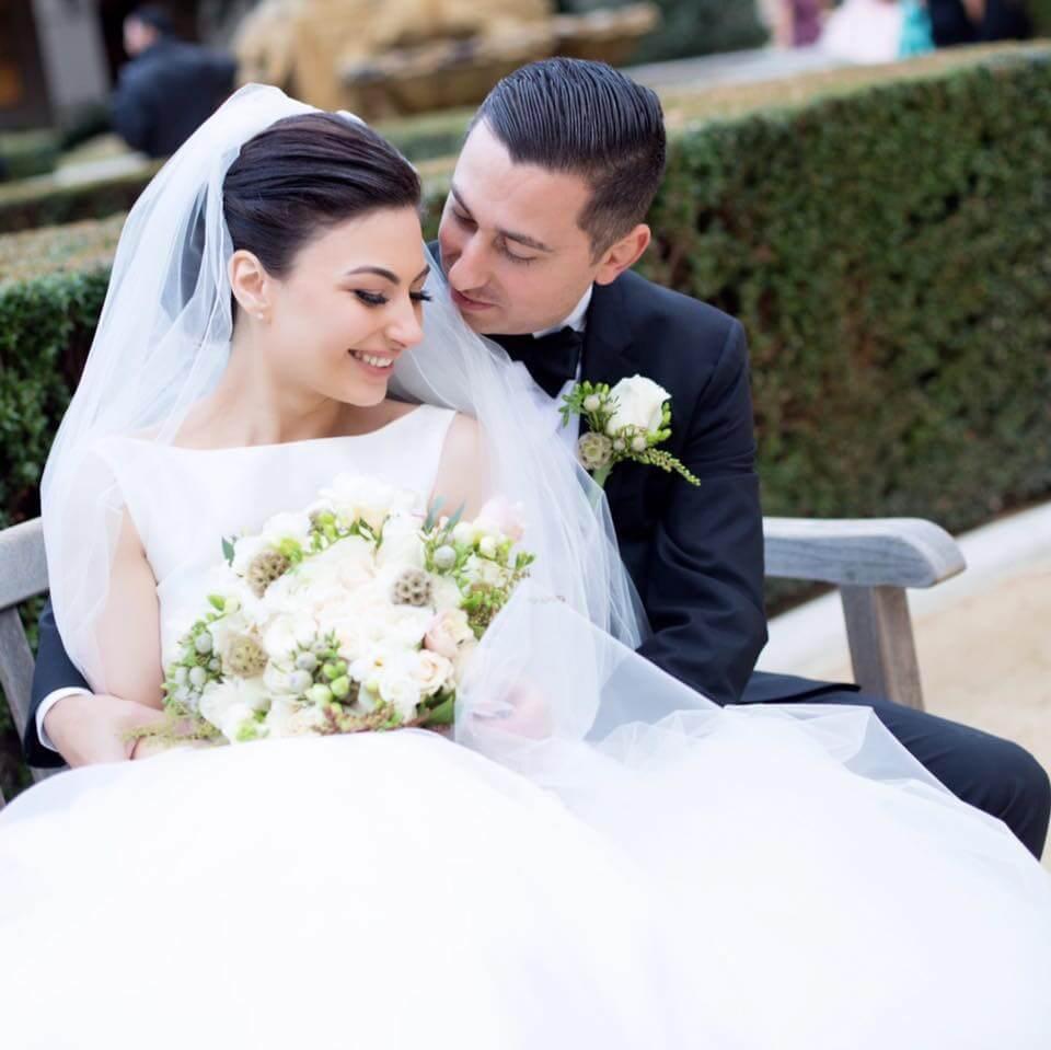 Анна Оганесян и Спартак Овакимян поженились в Калифорнии. Фото из личного архива
