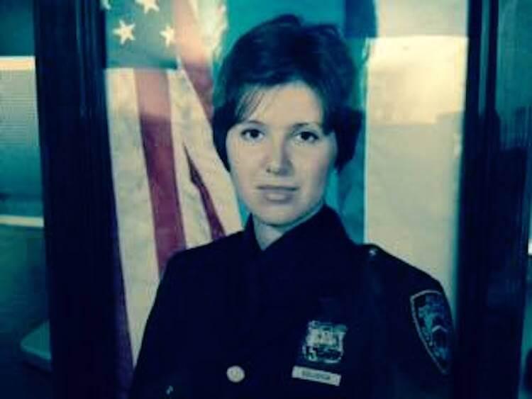 В полицейской Академии Зоя Голубева показала хорошие знания. Фото: из личного архива