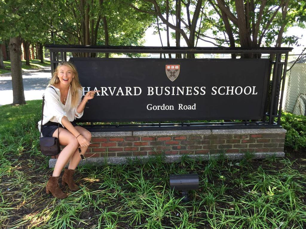 Мария Шарапова поступила в Гарвард Фото: Twitter