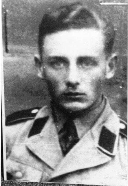 Гельмут Оберландер, конец 1941 - 1942 годы. Фото: Ontario Jewish Archive.