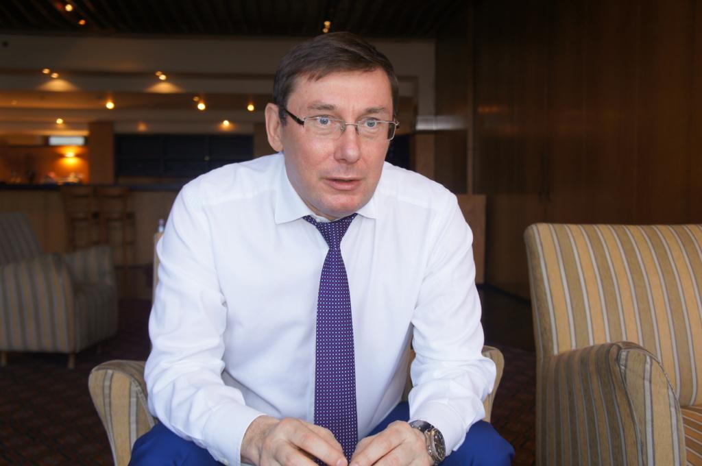 Юрий Луценко. Фото Шимона Бримона