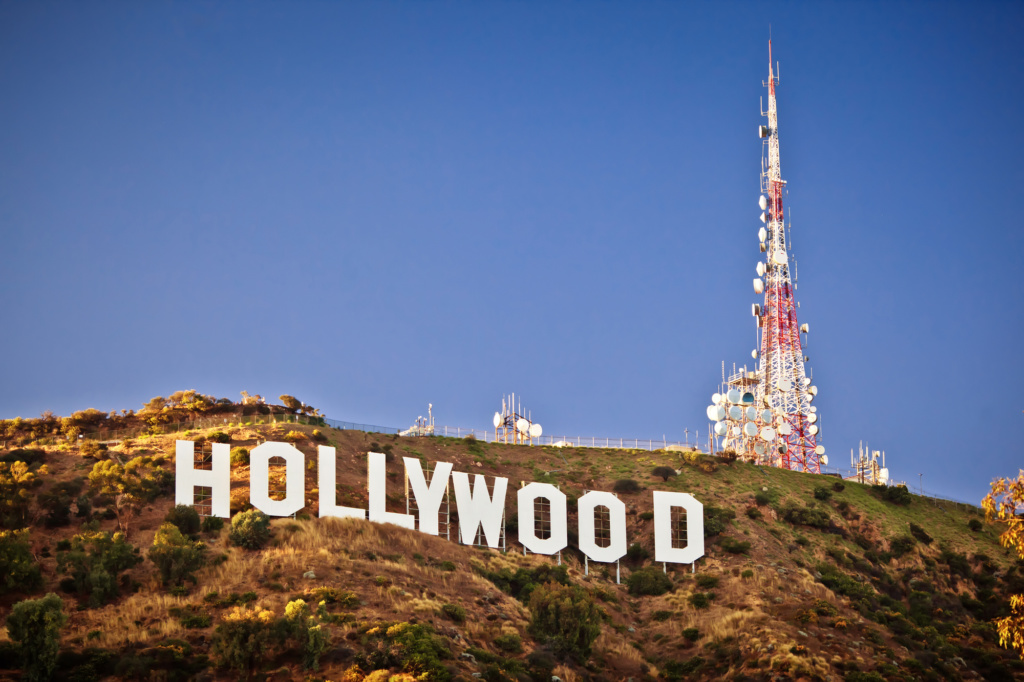 Знаменитый символ Голливуда. Фото: Depositphotos