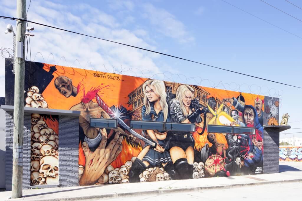 Винвуд - самый необычный район Майами. Фото: depositphotos.com
