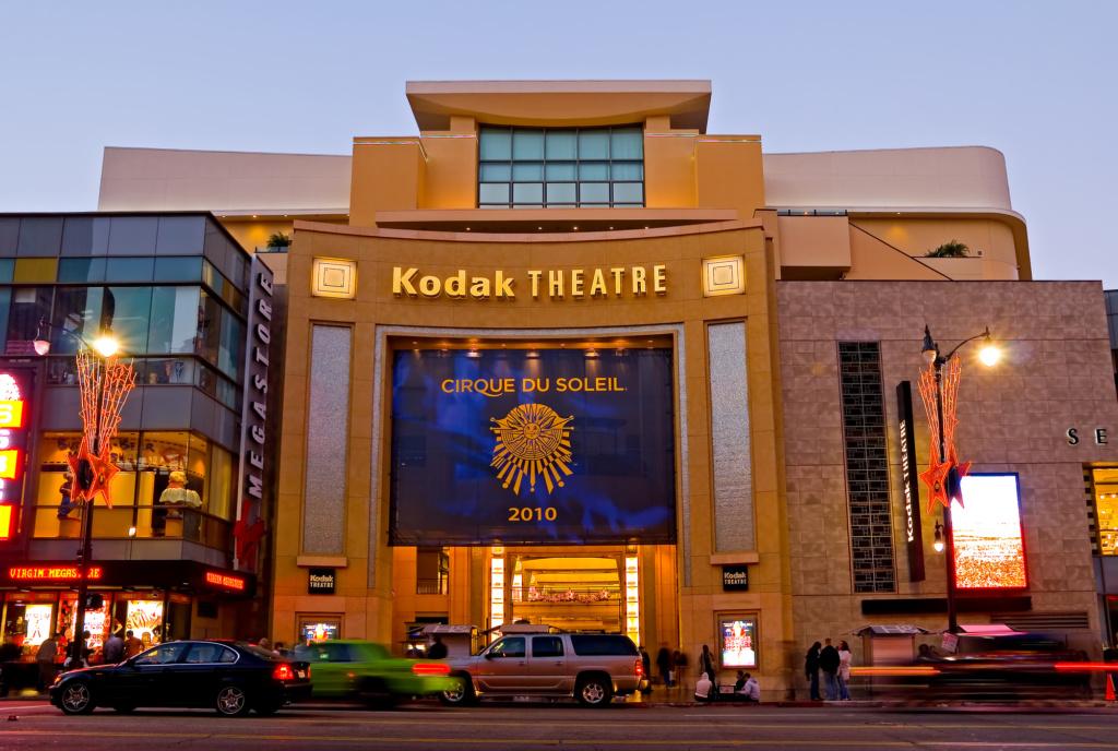 Известный Kodak Theatre. Фото: Depositphotos