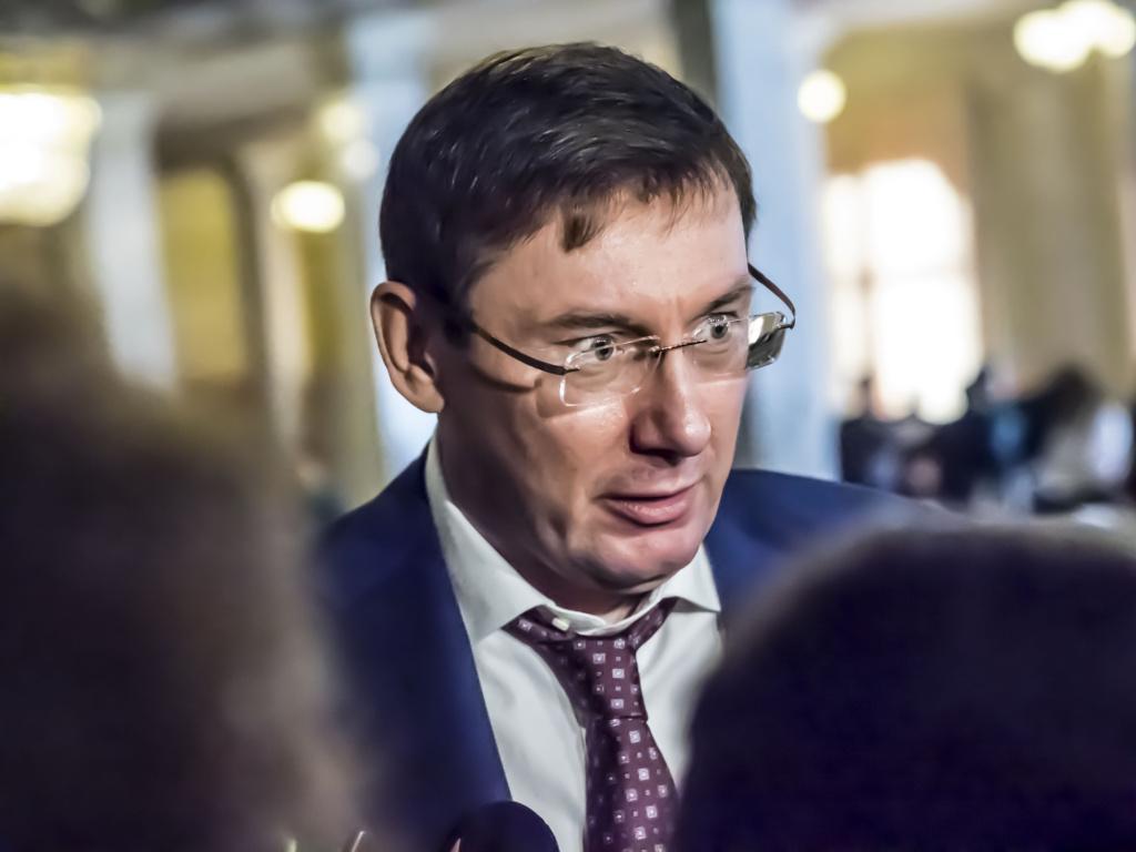 Юрий Луценко в Верховной Раде. Фото: Depositphotos