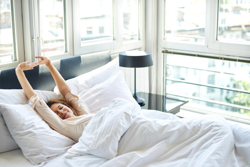 В первую ночь после прилета желательно хорошо выспаться. Фото: Depositphotos