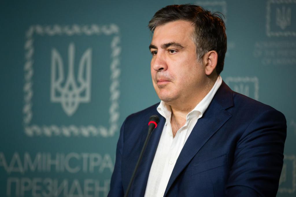 Глава Одесской областной администрации Михаил Саакашвили. Фото: Depositphotos