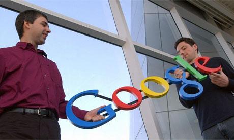 Сергей Брин и Ларри Пейдж Фото: Google
