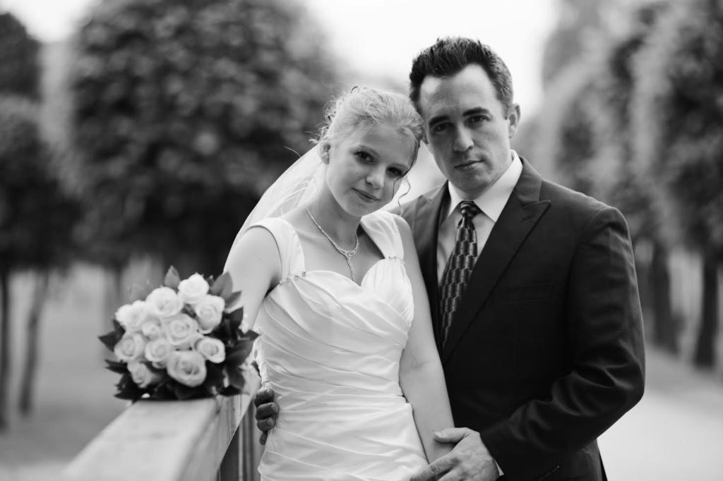 Праздничная церемония Маши и Пола была в Москве. Фото из личного архива.