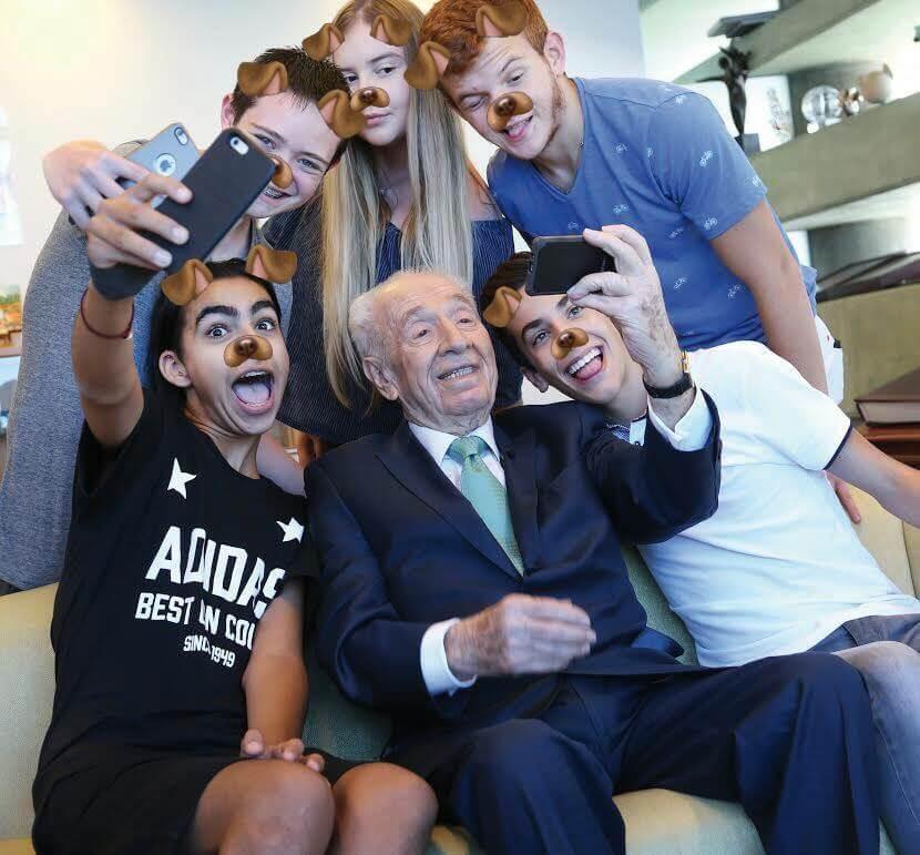 Фото: Facebook/ Shimon Peres שמעון פרס
